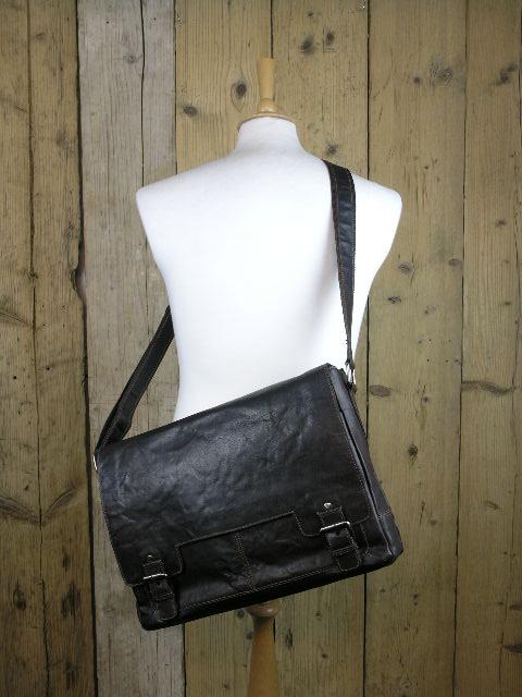 Ashwood 8343 Brown Shoulder Bag