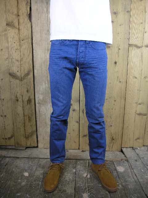 Last And True Skinny Ross 70s Blue Jean