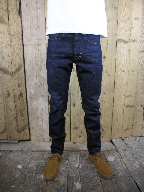 Last And True Skinny Ross Dark Scratch Jean