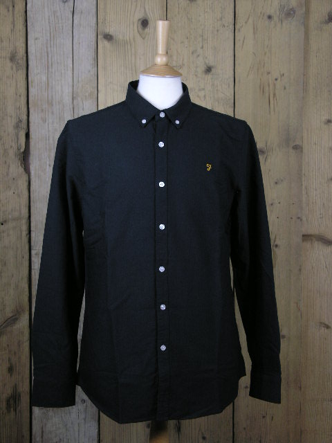 Farah Black Ink Shirt