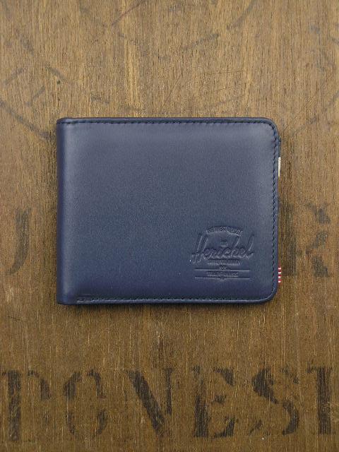 Herschel Supply & Co Hank Navy Smooth Wallet