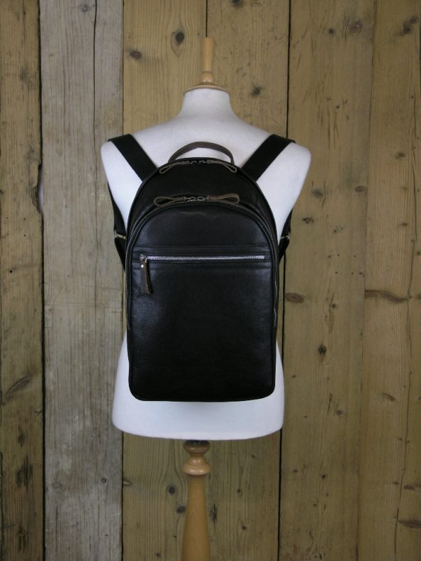 Ashwood 4555 Dark Brown Backpack Bag