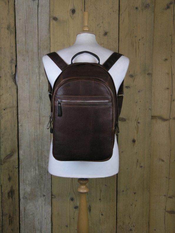 Ashwood 4555 Tan Backpack Bag