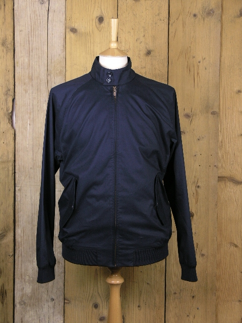 Ben Sherman Navy Harrington Jacket