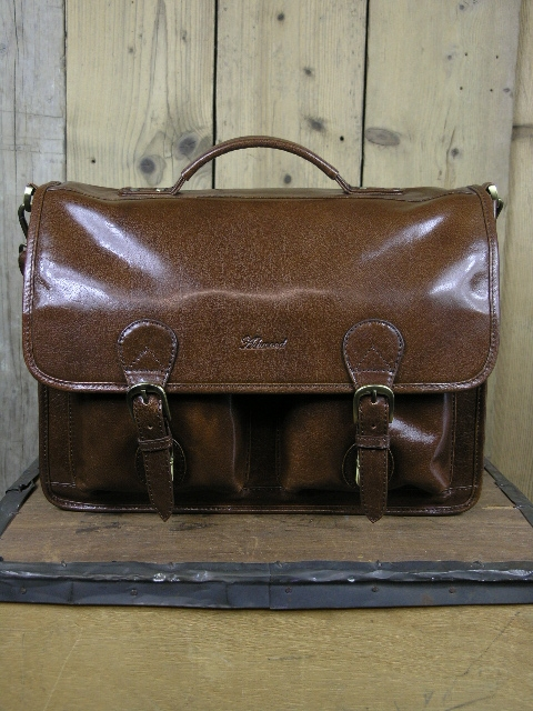Ashwood 8190 Buff Chestnut Briefcase Bag