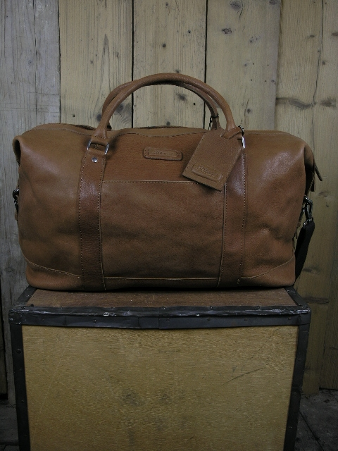 Ashwood Austin Tan Holdall Bag
