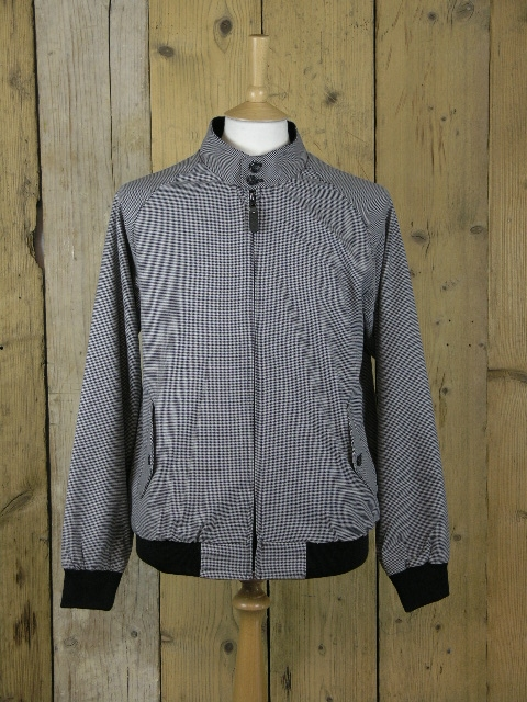 Trojan Houndstooth Harrington Jacket TR/8300