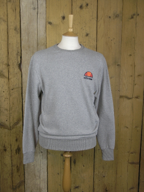 Ellesse Heritage Diveria Athletic Grey Marl Sweat
