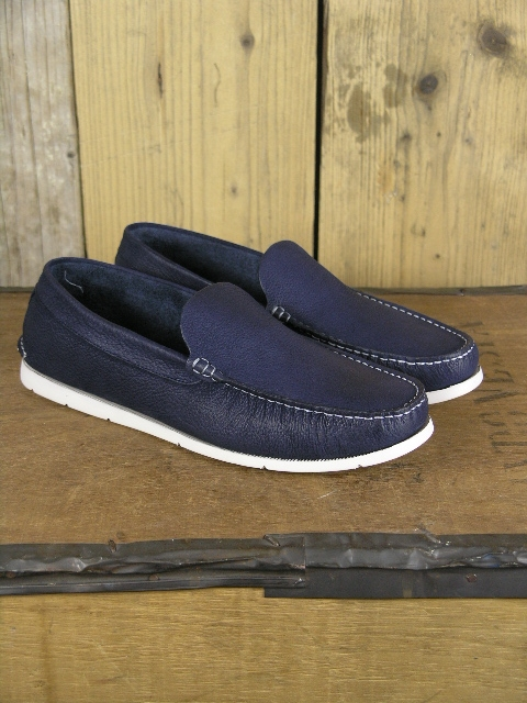 Paolo Vandini Alvin Navy Loafer