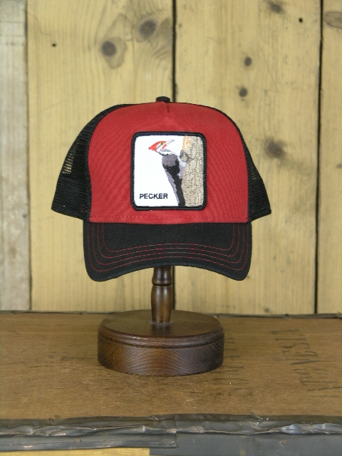 Goorin Brothers Red Pecker Trucker Cap