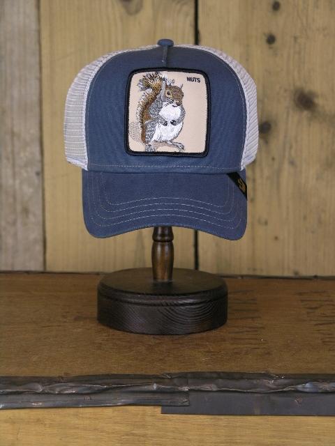 Goorin Brothers Squirrel Grey Trucker Cap