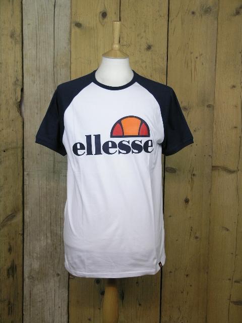 Ellesse Heritage Cassina Optic White Tee SHY00629