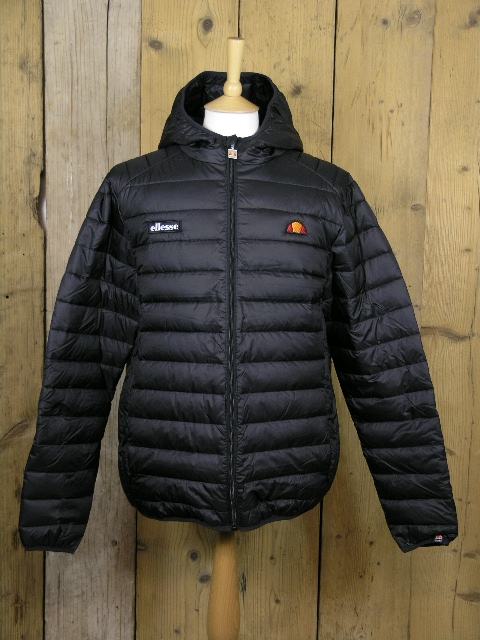 Ellesse Heritage Lombardy Anthracite Puffa Jacket SHY01115