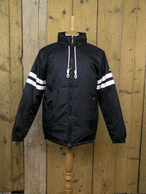 Ellesse Heritage Mandial Black Padded Jacket SHY01537