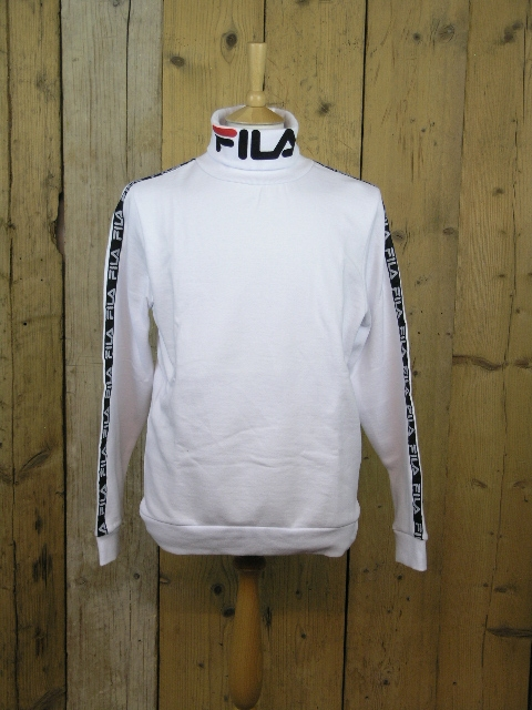 Fila Blackline Drey White Funnel Sweater LM1831AD