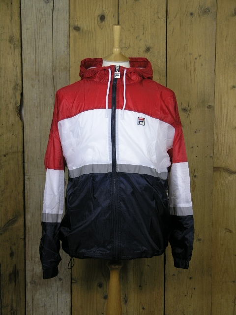 Fila Whiteline Cedric Chinese Red Rain Jacket LM1839AQ