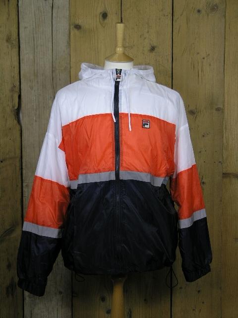 Fila Whiteline Cedric Orange Rain Jacket LM1839AQ