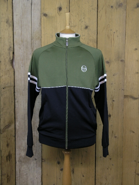 22543724 Sergio Tacchini Orion Olive Track Jacket 36969211 - Elements Clothing