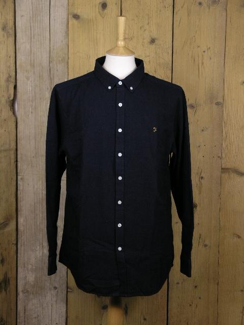Farah Indigo Brewer Oxford Shirt F4WF8005