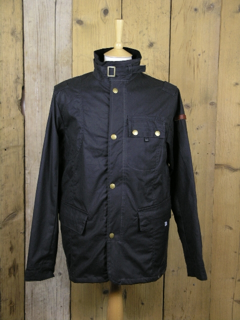 Peregrine Antique Bexley Gunmetal Wax Jacket