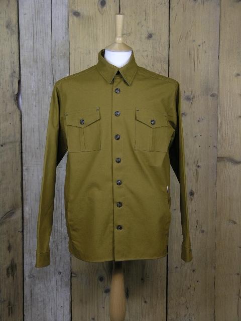 Peregrine Hilton Mustard Over Shirt MJ223