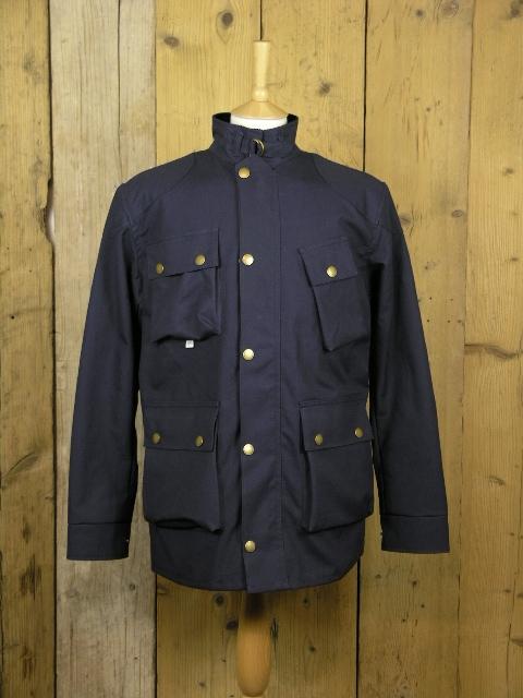 Peregrine Baxter Navy Field Jacket