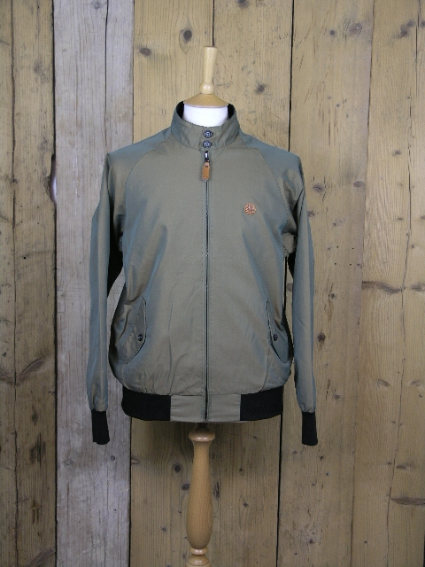 Ska & Soul Khaki Two Tone Harrington Jacket SS/2201