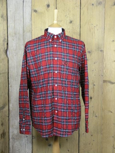 Trojan Blood Red Tartan Shirt TR/8368