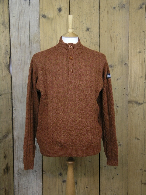 Weekend Offender Gomez Rust Knit KWAW1806