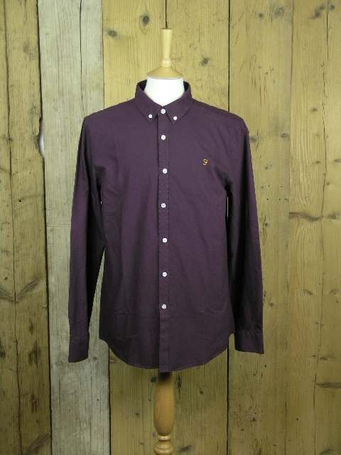 Farah Brewer Blackberry Shirt F4WS4054