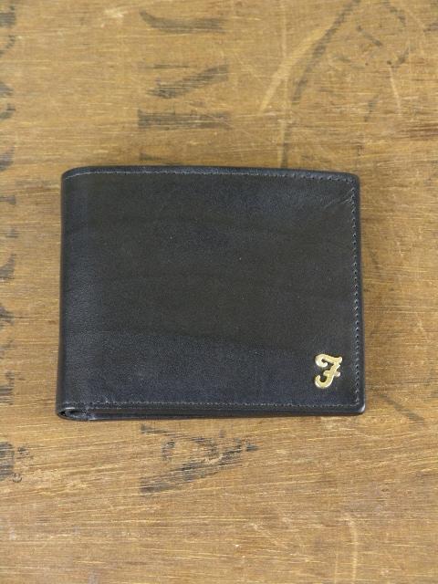 Farah Johnson Black Fold Wallet 055422169663