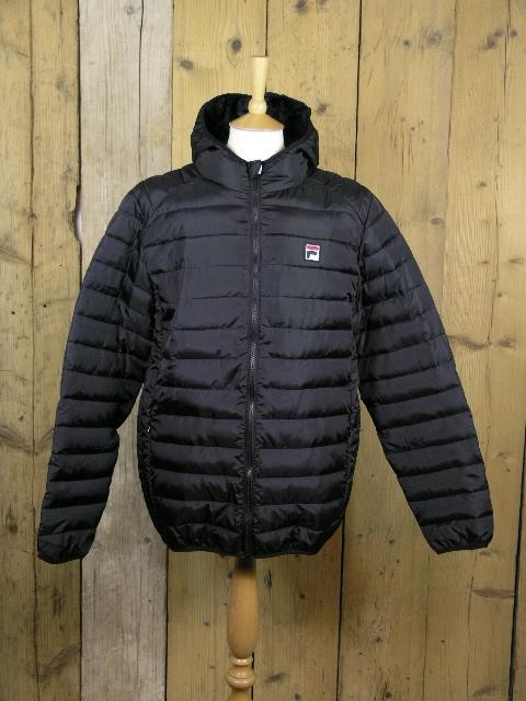 Fila Whiteline Pavo Black Puffa Jacket FW15VGM029