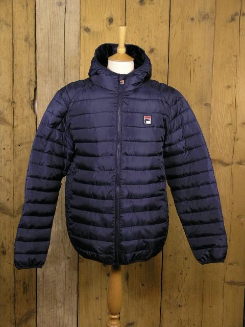 Fila Whiteline Pavo Peacoat Puffa Jacket FW15VGM029