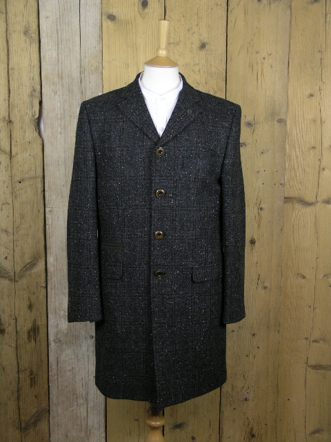 Gibson London Charcoal Check Winnie Coat G18225WN