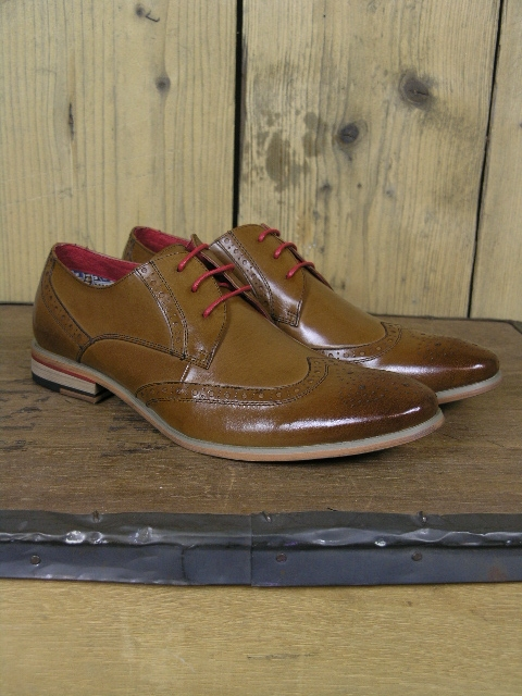 Paolo Vandini Orlando Tan Brogue Shoe