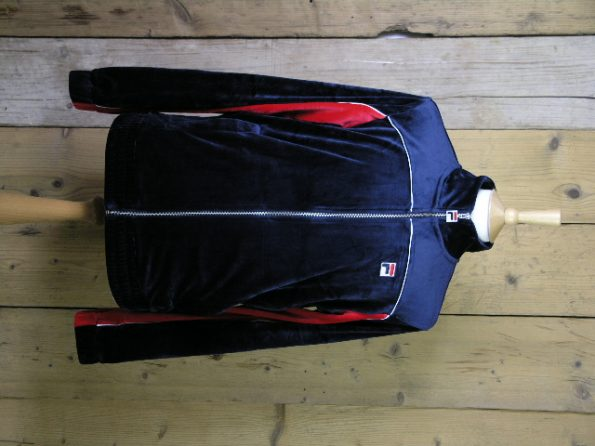 Fila Whiteline Cisco Peacoat Velour Track Jacket