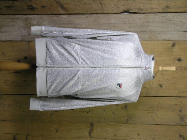 Fila Whiteline Kurtis Light Grey Marl Velour Jacket