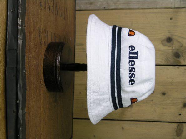 Ellesse White Lorenzo Bucket Hat