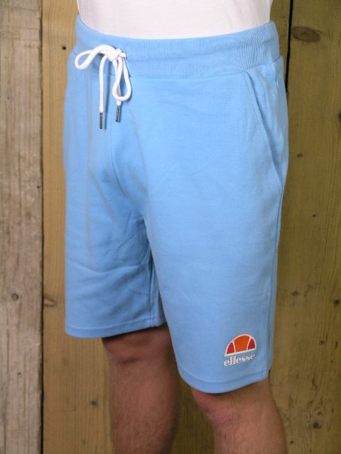 e1cf1ade792d Ellesse Heritage Crawford Light Blue Marl Fleece Short - Elements Clothing