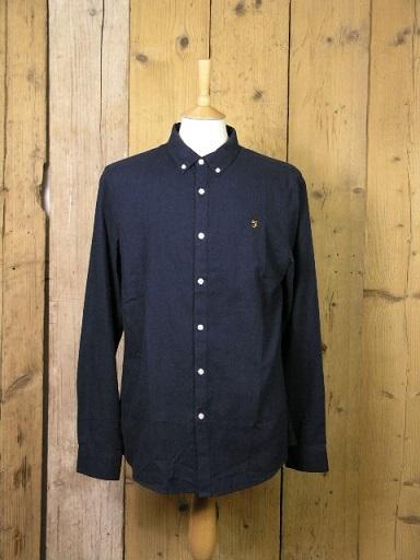 Farah Minshell True Navy Shirt F4WF9014