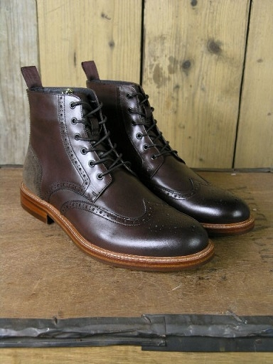 John White Brown Midland Boot