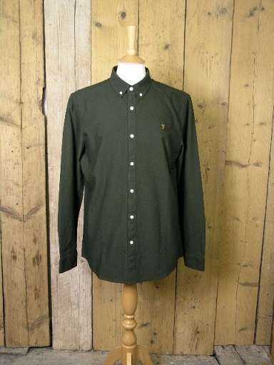 Farah Brewer Evergreen Shirt F4WS4054