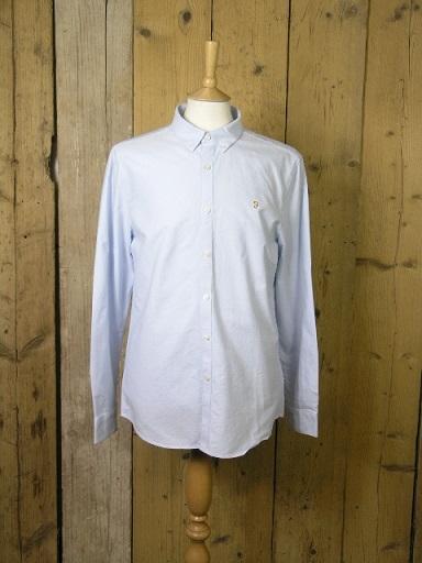 Farah Sky Blue Brewer Shirt F4WS4054