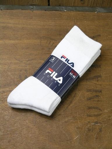 Fila White Mini Logo 3 Multi Pack F9630