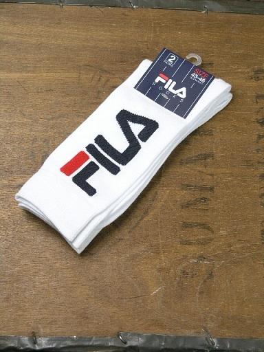 Fila White Oversized Logo 3 Multi Pack F9632