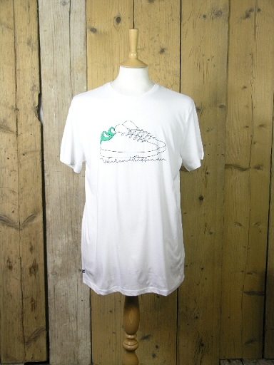 Weekend Offender Trainers White Tee PTAW1907