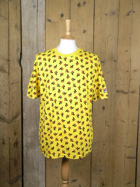 Fila Adam Yellow Graphic Tee LM016821