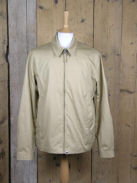Pretty Green Sand Zip Up Harrington Jacket S20MU11000071