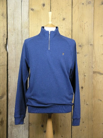 Farah Vintage Ultramarine Marl Jim Sweater F4KS80H3