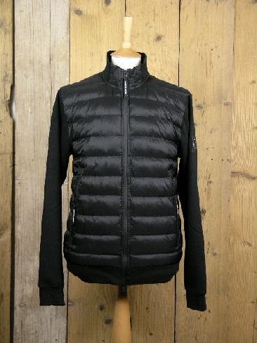 Marshall Artist Alpine Black Funnel Neck Jacket MSATM 10368